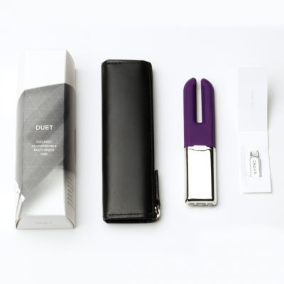 Crave – Duet Dual Motor Vibrator (Purple)
