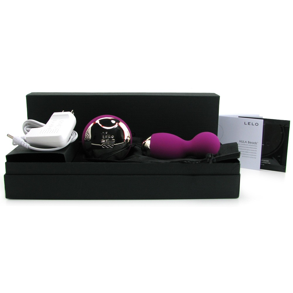 Lelo Hula Beads Deep Rose Full Box
