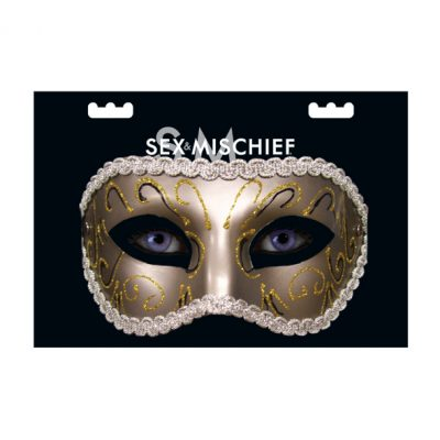 S&M - Grey Masquerade Mask Pack