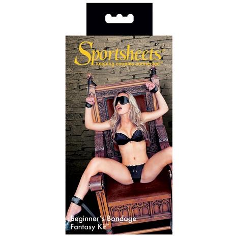 Sportsheets Beginners Bondage Fantasy Box