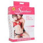 Sportsheets Heart Harness & Dildo Kit Pack