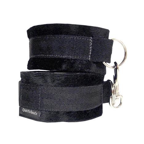 Sportsheets Soft Cuffs Black