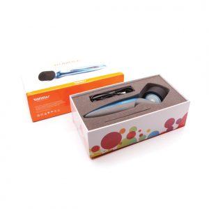 Tantus - Rumble Wand Vibrator Packaging