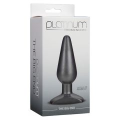 Doc Johnson - Platinum The Big End Butt Plug Packaging
