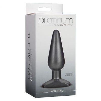 Doc Johnson - Platinum The Big End Butt Plug Packaging