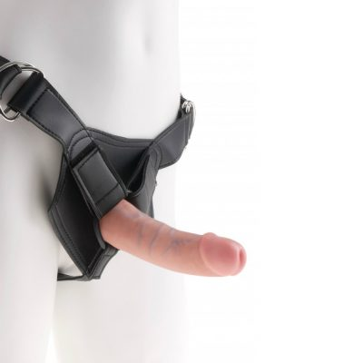 King Cock – Strap On Harness with 6 Inch Dildo
