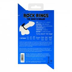 Rock Rings – The Rock 'N' Roller Vibrating Cock Ring